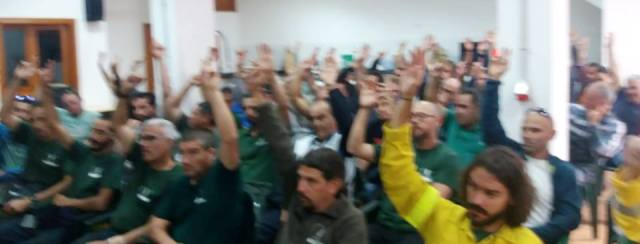 """SITCA: """"Los trabajadores de Medioambiente del Cabildo de GC apoyan masivamente  la convocatoria de movilizaciones entre las que se incluye la huelga"""""""