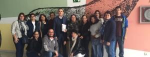 Antonio Rodriguez y Delegados de Aparceros de Tomates y Pepinos