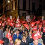 Manifestación Reforma Laboral
